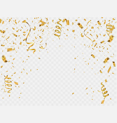 abstract background party celebration gold vector image