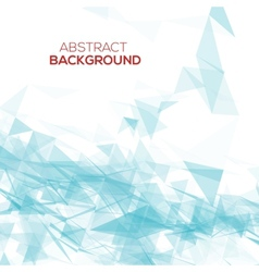 Abstract mesh background with lines and shapes vector
