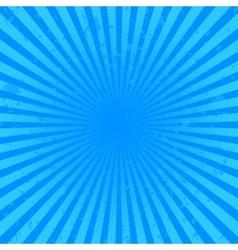 Blue starburst background vector