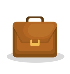 Briefcase isolated design vector