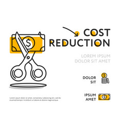 Concept graph for cost reduction vector