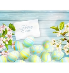 Easter card EPS 10 vector image
