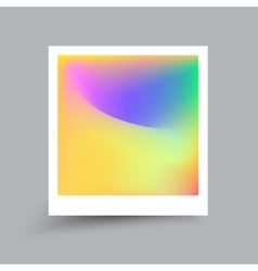 Fluid colors Modern hipster style card Applicable vector