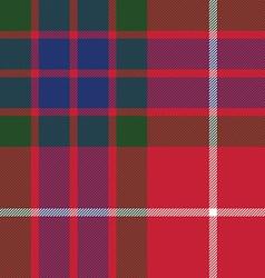 fraser tartan seamless pattern fabric texture vector image