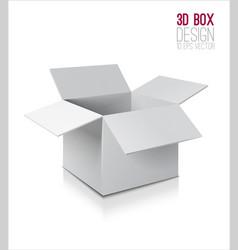 white open box vector image