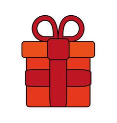 gift flat vector image vector image