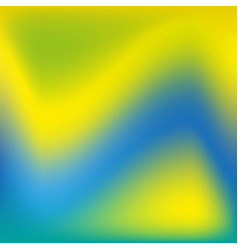 background in blue green yellow blurred vector image vector image