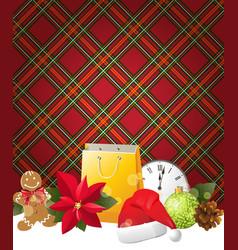 English Christmas vector image vector image