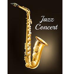 A saxophone vector