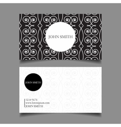 abstract patterns cards vector image