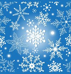 Christmas snowflakes texture vector