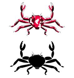 crabs vector image