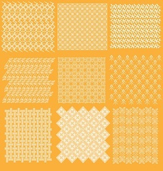 java batik pattern collection vector image