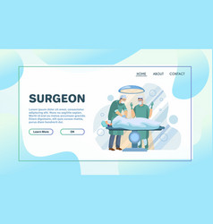 medical services flat vector image