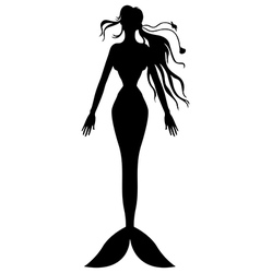 Mermaid top vector