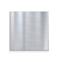 Metal texture aluminium steel background silver vector