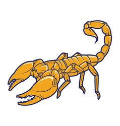 Scorpion logo vector