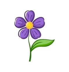 Simple Flower vector image