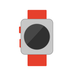 watch with buttons poster vector image