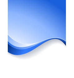 wave background template vector image vector image