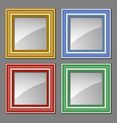 colored frames vector image