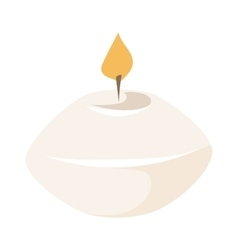 Aroma candle vector