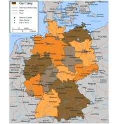 Map Germany Road Vector Images 31