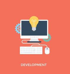 Innovative development vector