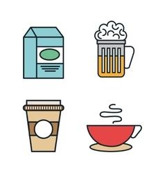 line food design vector image