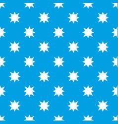 origami sun pattern seamless blue vector image