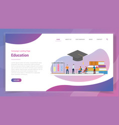 School or education for website template or vector