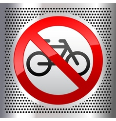 Symbols bike vector image
