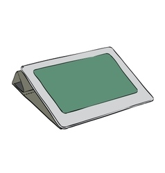 Tablet modern gadgets and the Internet vector image