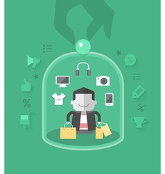 Customer Care vector image
