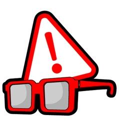 alarm symbol vector image