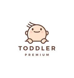 batoddler logo icon vector image