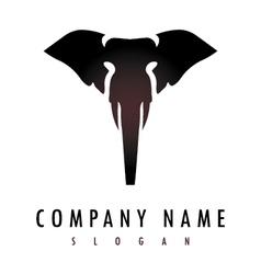 elephant logo vector image