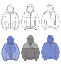 Hoodies vector image