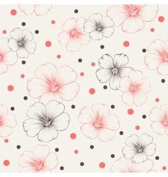 Linum pattern vector image