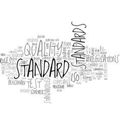 Standard word cloud concept vector