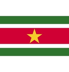 Surinam flag image vector