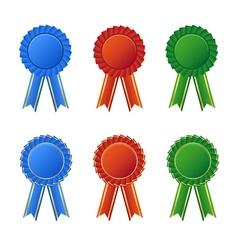 Awards seal vector image vector image
