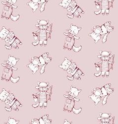 Cartoon cats vector image vector image