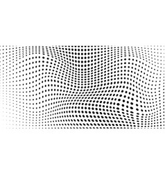 abstract background halftone dots vector image