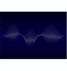 abstract sound wave musicradio background with vector image