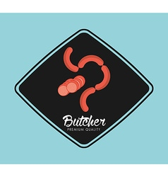 butcher product vector image