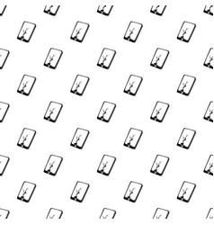 crack screen smartphone pattern seamless vector image