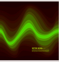 distorted wave colorful texture vector image