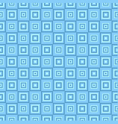 Geometrical seamless pattern - square background vector