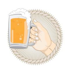 Get a beer vector